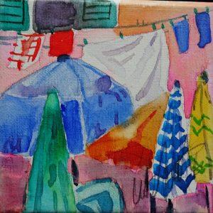 10x10 Burano ombrelloni