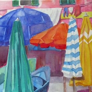 30x30 Sonnenschirme  in Vernazza shop 3
