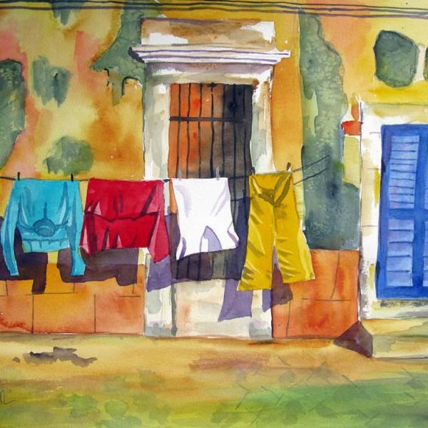 46×61 Das gelbe Haus shop
