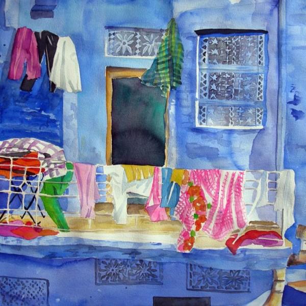 Das blaue Haus,shop