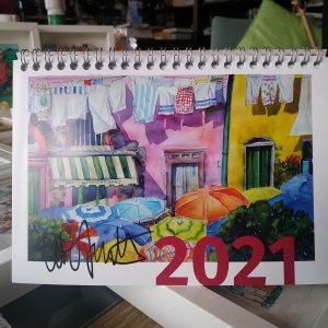 Kalender, Weihnachtskugeln, Mouse Pads, Masken .......
