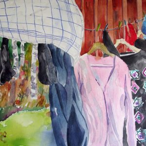 Wäsche in Ryd, verkauft