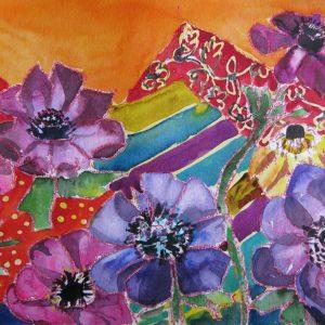 Aquarelle Blumen
