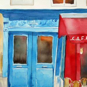 blaue Tür shop