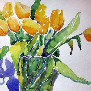 gelbe tulpen shop