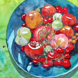 Lezte Tomaten, im Shop