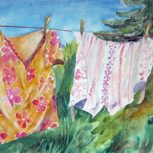 shop 120 x 60 Neulich auf der Wäscheleine