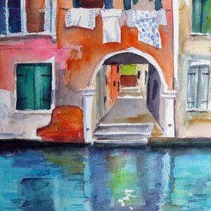 Aquarelle Venedig