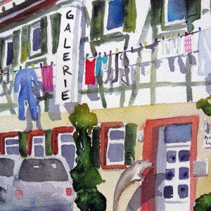 verkauft 26x36 Waschtag in der Galerie, shop